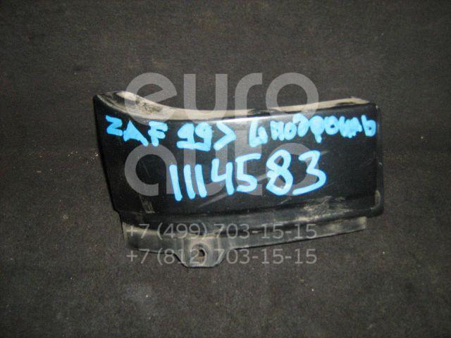 Планка под фонарь левая для Opel Zafira (F75) 1999-2005 - Фото №1