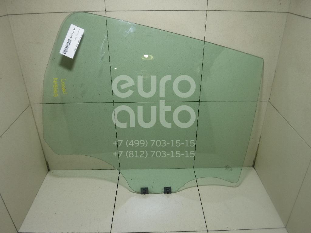 Купить Стекло двери задней правой Renault Logan 2005-2014; (8200396076)