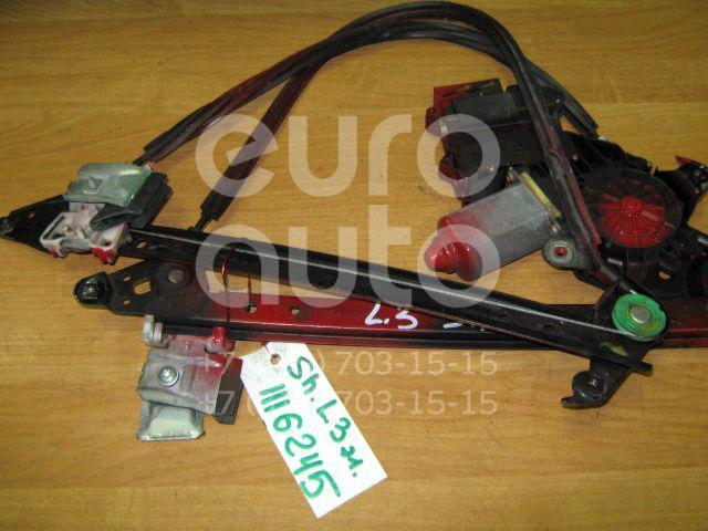 Стеклоподъемник электр. задний левый для VW,Seat,Ford Sharan 1995-1999;Alhambra 1996-2001;Sharan 2000-2006;Galaxy 1995-2006 - Фото №1
