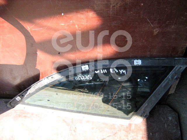 Стекло кузовное глухое правое для Mercedes Benz W211 E-Klasse 2002-2009 - Фото №1