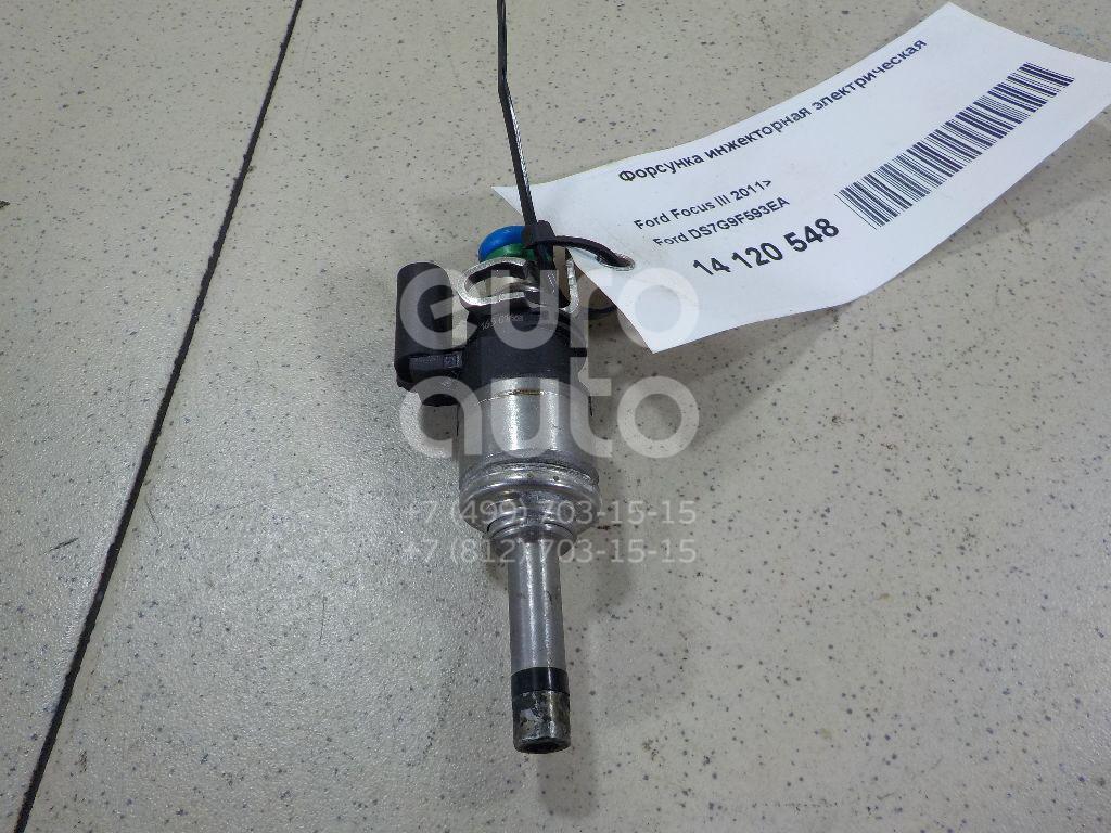 Купить Форсунка инжекторная электрическая Ford Focus III 2011-; (DS7G9F593EA)