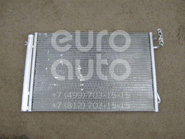 Радиатор кондиционера (конденсер) для BMW 5-серия E60/E61 2003-2009 - Фото №1