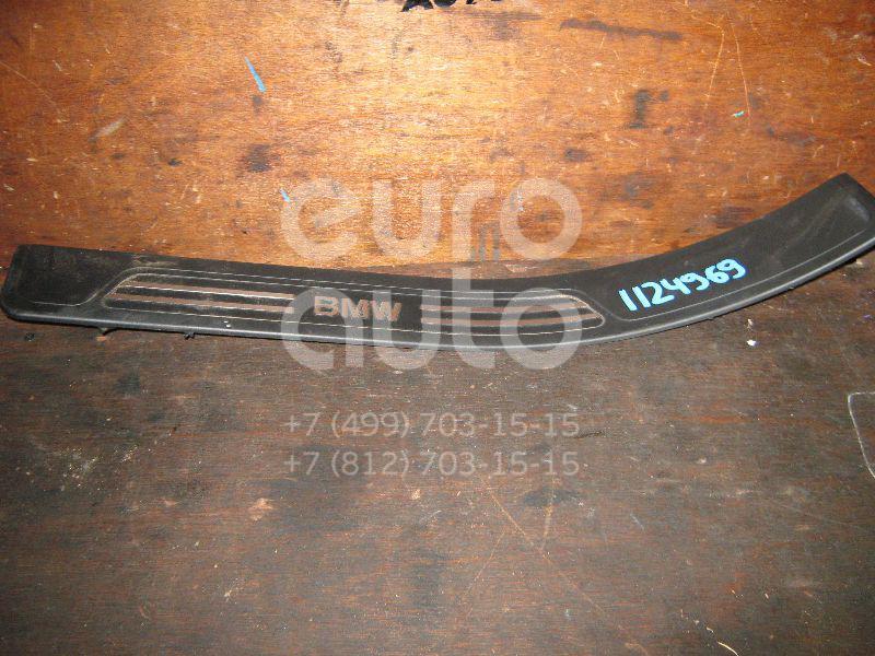 Накладка на порог (наружная) для BMW 7-серия E38 1994-2001 - Фото №1