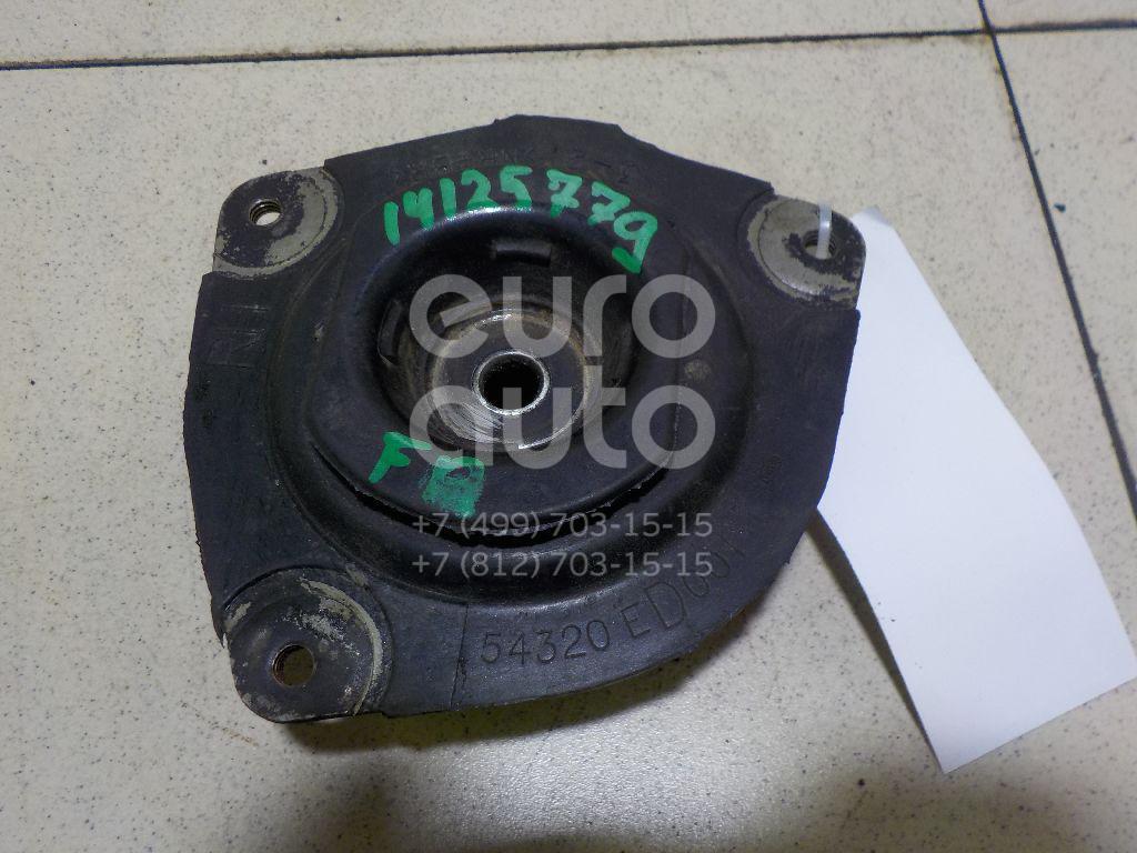 Купить Опора переднего амортизатора правая Nissan Micra (K12E) 2002-2010; (54320AX600)