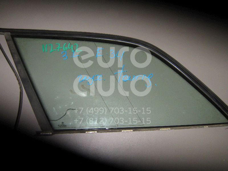 Стекло кузовное глухое левое для BMW 5-серия E34 1988-1995 - Фото №1