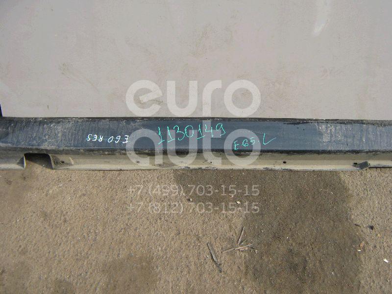 Накладка на порог (наружная) для BMW 7-серия E65/E66 2001-2008 - Фото №1