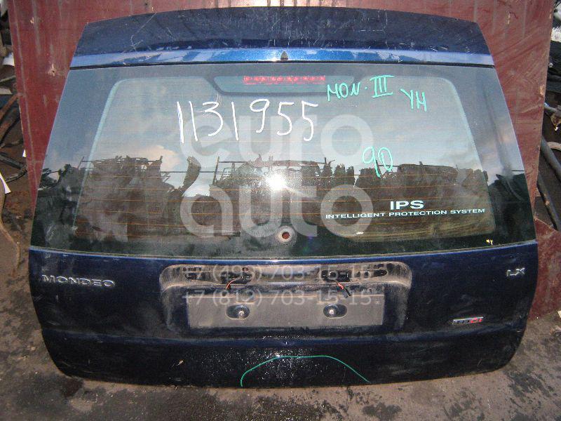 Дверь багажника со стеклом для Ford Mondeo III 2000-2007 - Фото №1