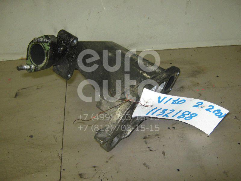 Фланец двигателя системы охлаждения для Mercedes Benz Vito (638) 1996-2003 - Фото №1