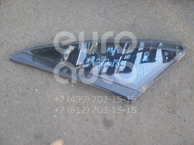 Стекло кузовное глухое левое для Audi A8 [4D] 1999-2002 - Фото №1