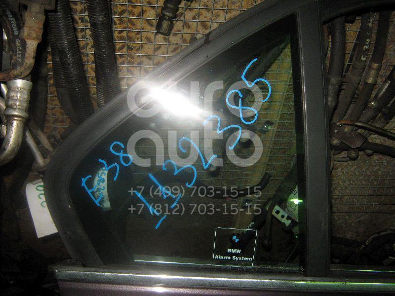 Стекло двери задней правой (форточка) для BMW 7-серия E38 1994-2001 - Фото №1