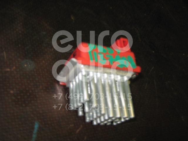 Резистор отопителя для VW,Audi,Skoda Passat [B5] 2000-2005;A3 (8L1) 1996-2003;A4 [B5] 1994-2000;TT(8N) 1998-2006;Octavia (A4 1U-) 2000-2011;Octavia 1997-2000;Golf IV/Bora 1997-2005;Passat [B3] 1988-1993;Passat [B4] 1994-1996 - Фото №1