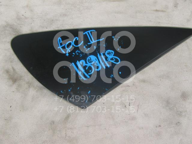 Стекло кузовное глухое правое для Ford Focus II 2005-2008;Focus II 2008-2011 - Фото №1