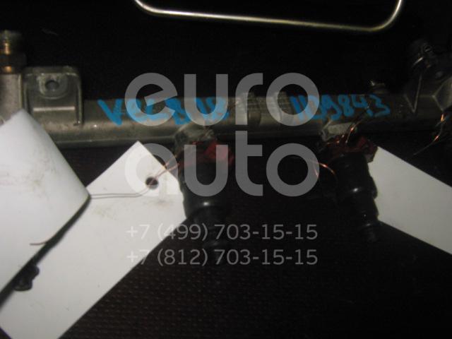 Рейка топливная (рампа) для Opel,Daewoo,Chevrolet Vectra B 1995-1999;Leganza 1997-2003;Astra F 1991-1998;Astra G 1998-2005;Omega B 1994-2003;Vectra A 1988-1995;Sintra 1996-1999;Frontera B 1998-2004;Zafira (F75) 1999-2005;Vectra B 1999-2002;Rezzo 2005-2010 - Фото №1