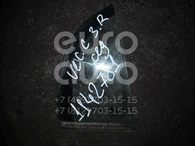 Стекло двери задней правой (форточка) для Opel Vectra C 2002-2008 - Фото №1