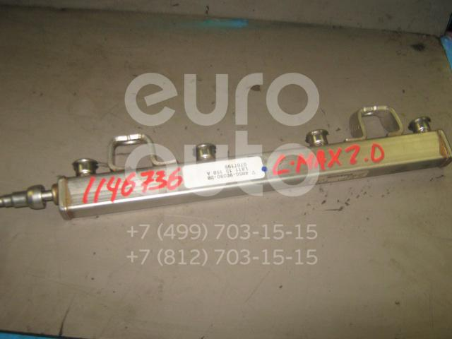 Рейка топливная (рампа) для Ford C-MAX 2003-2011;Focus II 2005-2008;Fusion 2002>;Mondeo III 2000-2007;Fiesta 2001-2007;V50 2004-2012;S-MAX 2006>;Mondeo IV 2007-2015;Focus II 2008-2011 - Фото №1