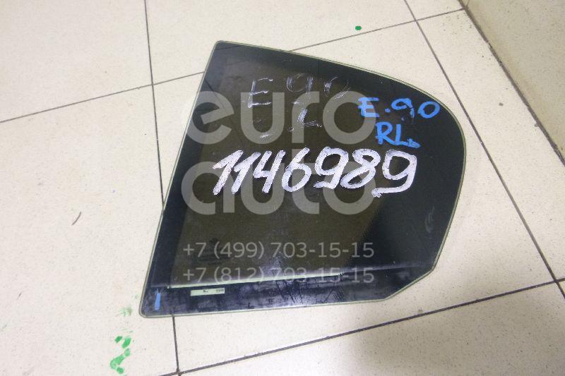 Стекло двери задней левой (форточка) для BMW 3-серия E90/E91 2005-2012 - Фото №1