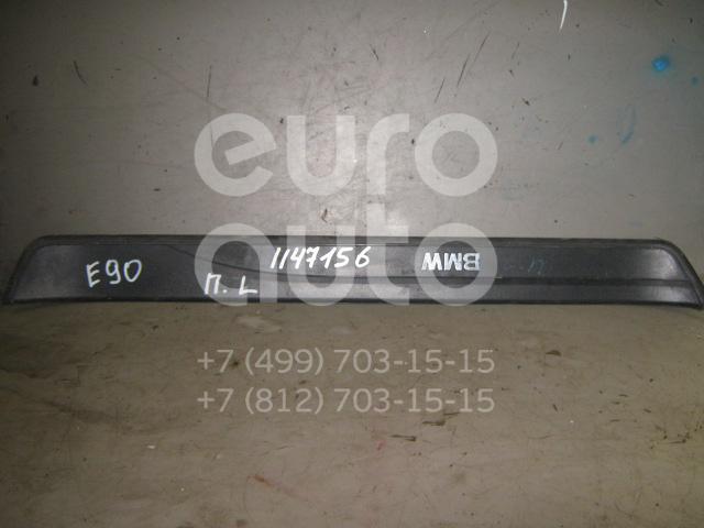 Накладка порога (внутренняя) для BMW 3-серия E90/E91 2005-2012 - Фото №1