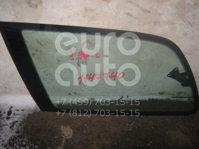 Стекло кузовное открывающееся (форточка) левое для VW,Seat,Ford Sharan 1995-1999;Alhambra 1996-2001;Sharan 2000-2006;Galaxy 1995-2006;Sharan 2006-2010 - Фото №1