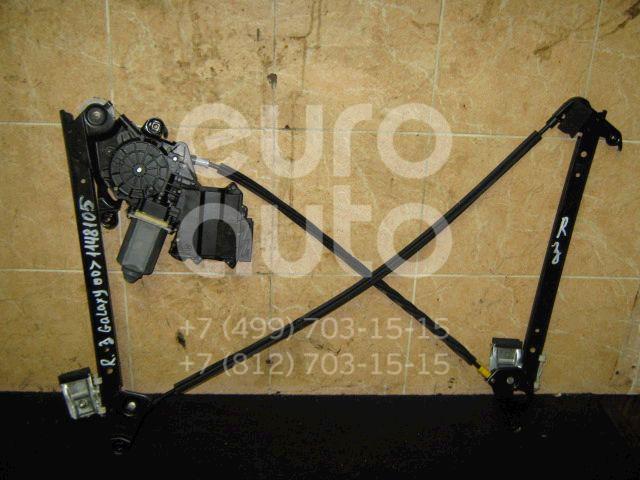 Стеклоподъемник электр. задний правый для Ford Galaxy 1995-2006;Alhambra 1996-2001;Sharan 2000-2006 - Фото №1