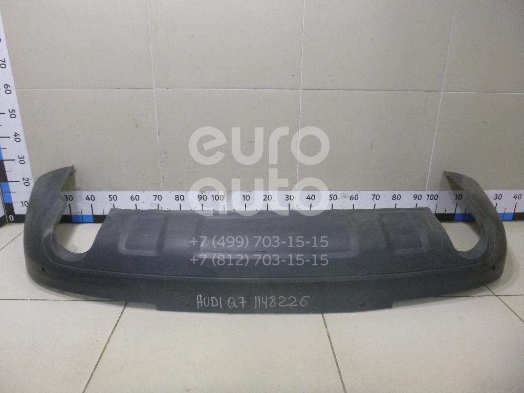 Юбка задняя для AUDI Q7 [4L] 2005-2015 - Фото №1