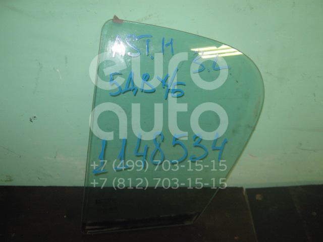 Стекло двери задней левой (форточка) для Opel Astra H / Family 2004-2015 - Фото №1