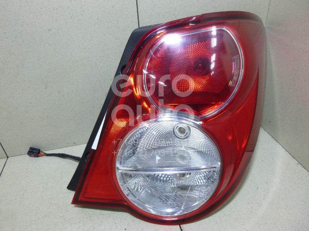 Купить Фонарь задний правый Chevrolet Aveo (T300) 2011-; (96830976)