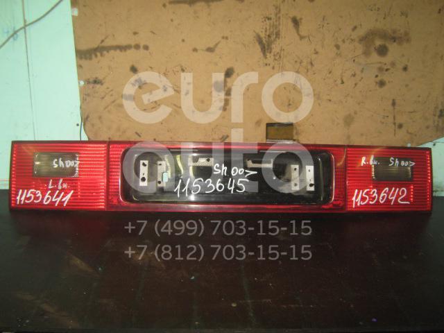 Накладка двери багажника для VW Sharan 2000-2006 - Фото №1