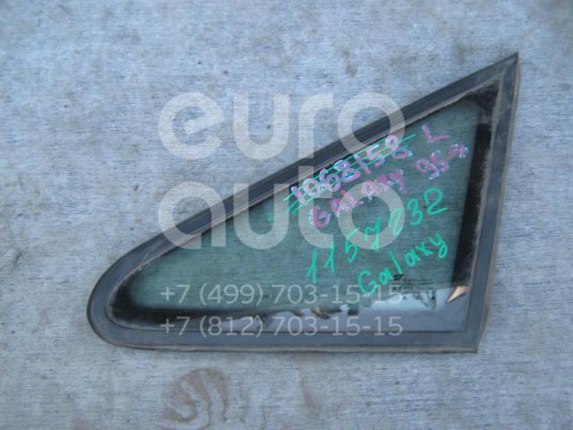 Стекло кузовное глухое левое для VW,Seat Sharan 2000-2006;Alhambra 1996-2001;Sharan 2006-2010 - Фото №1