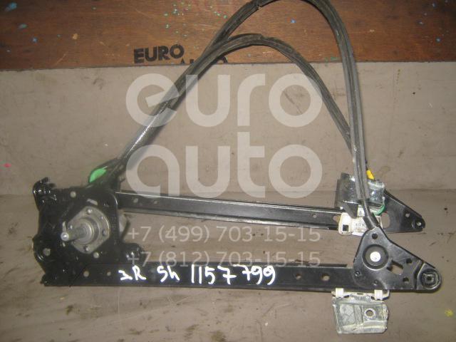 Стеклоподъемник механ. задний правый для VW,Seat Sharan 2000-2006;Sharan 2006-2010;Alhambra 2001-2010 - Фото №1