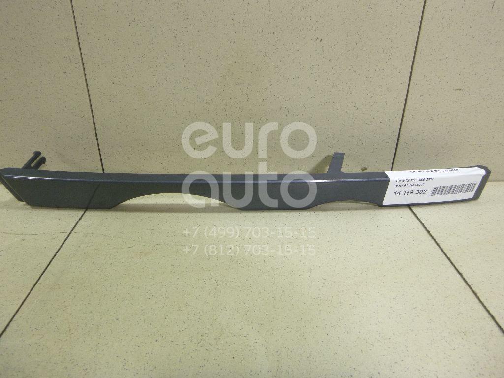 Купить Планка под фару правая BMW X5 E53 2000-2007; (51138255210)