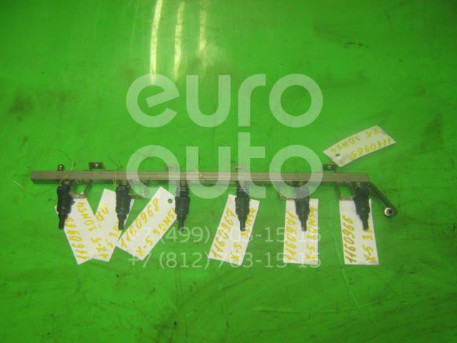 Рейка топливная (рампа) для BMW X5 E53 2000-2007;3-серия E46 1998-2005;5-серия E39 1995-2003;Z3 1995-2003;7-серия E65/E66 2001-2008;X3 E83 2004-2010;5-серия E60/E61 2003-2009;Z4 E85/E86 2002-2008 - Фото №1