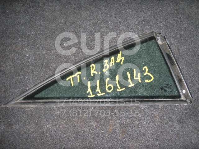 Стекло кузовное глухое правое для Audi TT(8N) 1998-2006 - Фото №1