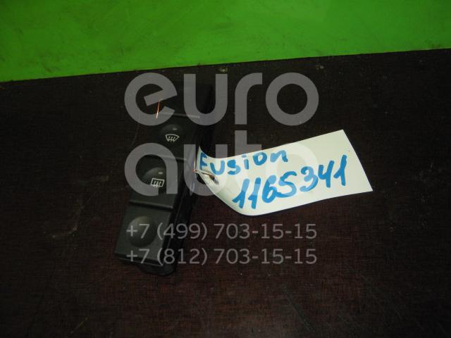 Кнопка обогрева переднего и заднего стекла для Ford Fusion 2002>;Fiesta 2001-2007 - Фото №1