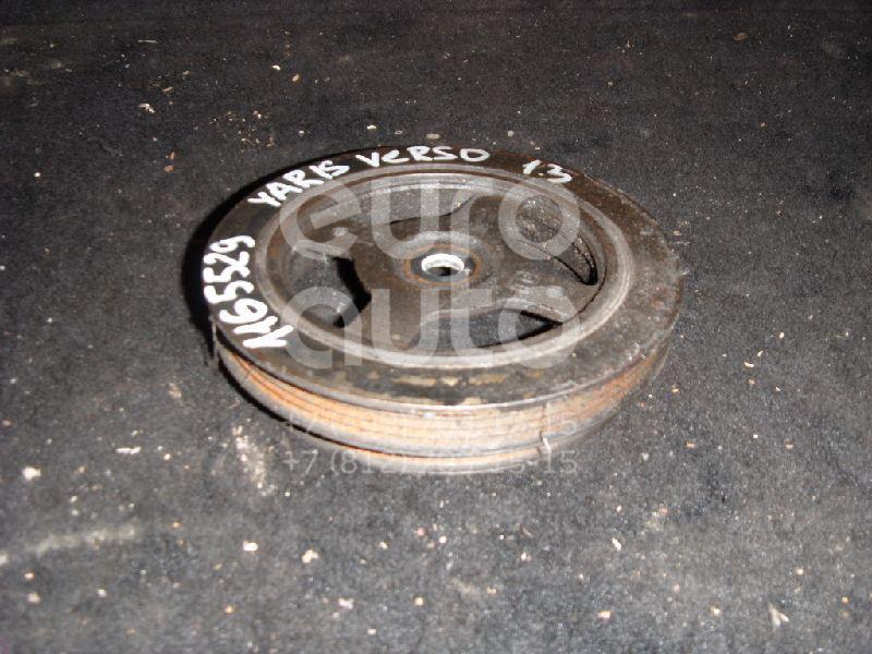 Шкив коленвала для Toyota Yaris Verso 1999-2005;Echo 1999-2005;Yaris 1999-2005;Corolla E12 2001-2006;Yaris 2005-2011 - Фото №1