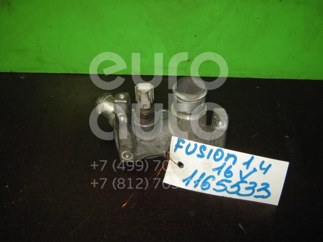 Фланец двигателя системы охлаждения для Ford Fusion 2002-2012;Focus II 2005-2008;C-MAX 2003-2011;Focus I 1998-2005;Fiesta 2001-2008;Mondeo IV 2007-2015;Focus II 2008-2011;Fiesta 2008> - Фото №1