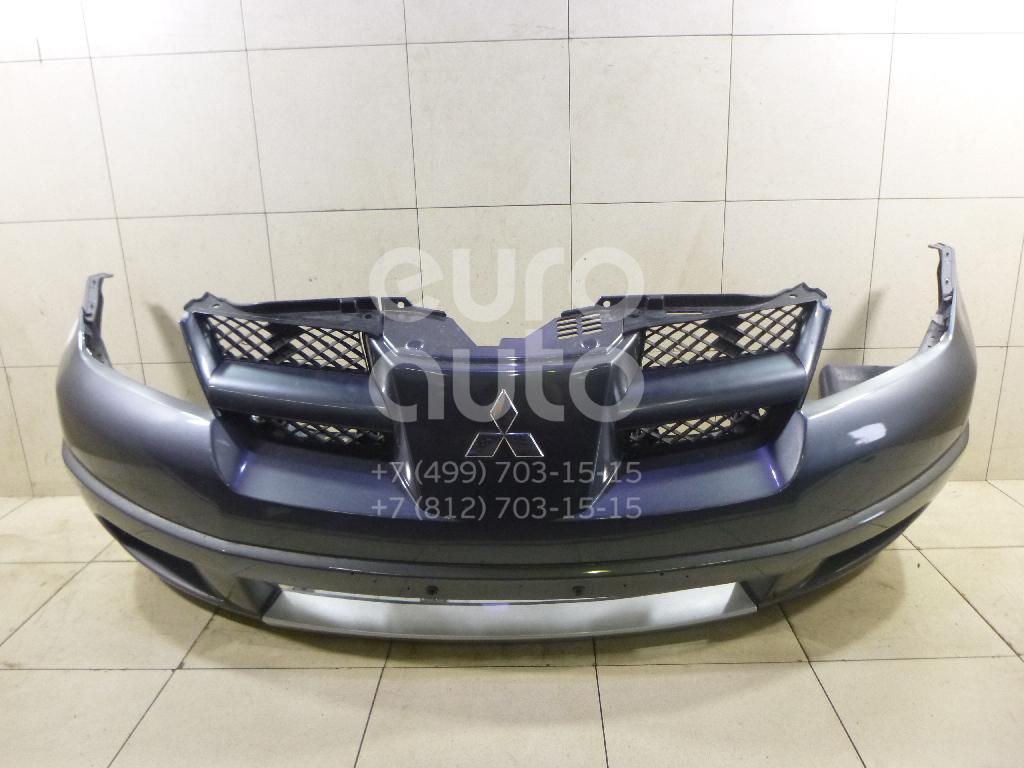Купить Бампер передний Mitsubishi Outlander (CU) 2001-2008; (MN150453BA)