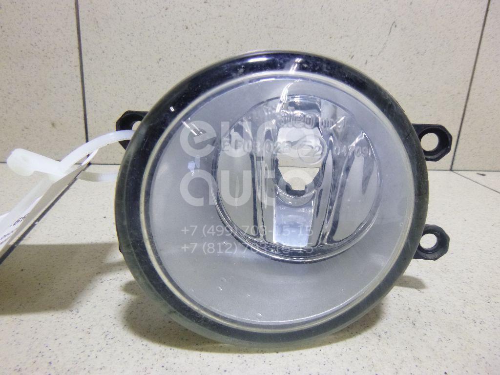 Купить Фара противотуманная левая Toyota RAV 4 2006-2013; (812200D040)