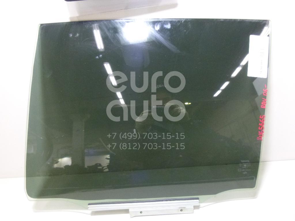 Стекло двери задней левой Toyota RAV 4 2006-2013; (6810442120)  - купить со скидкой