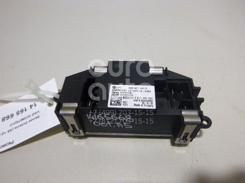 Резистор отопителя Skoda Octavia (A5 1Z-) 2004-2013; (3C0907521F)  - купить со скидкой