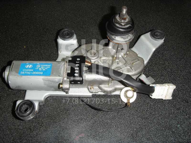 Моторчик стеклоочистителя задний для Hyundai Elantra 2000-2005 - Фото №1