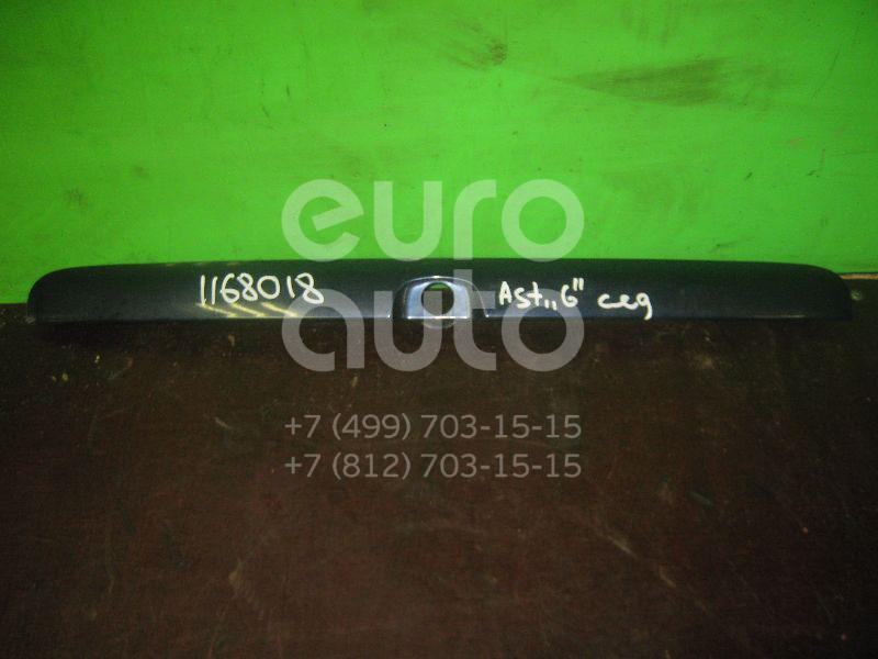 Накладка крышки багажника для Opel Astra G 1998-2005 - Фото №1