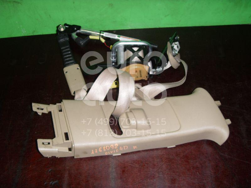 Ремень безопасности с пиропатроном для Honda Civic 4D 2006-2012 - Фото №1