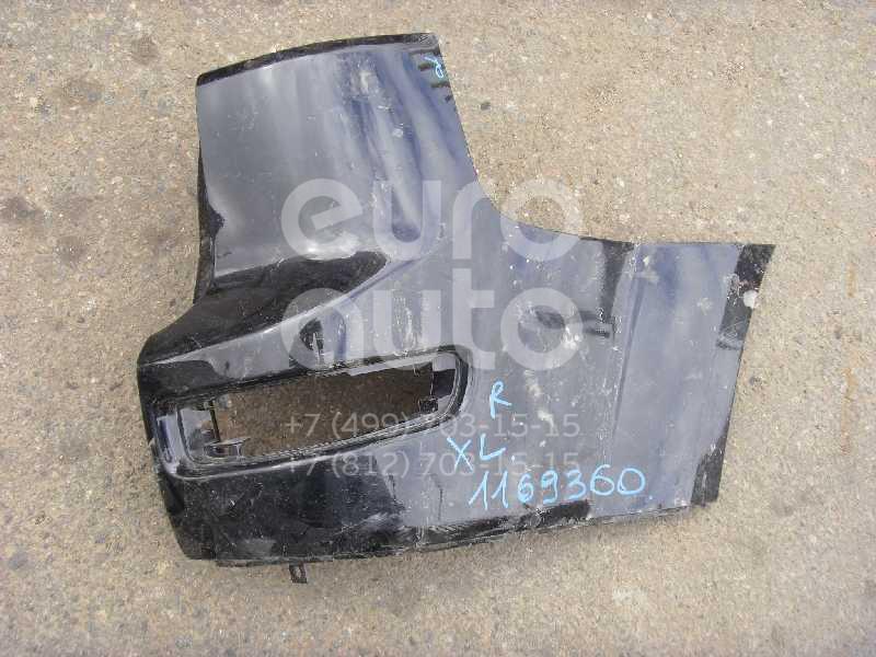 Накладка заднего бампера правая для Mitsubishi Outlander XL (CW) 2006-2012 - Фото №1