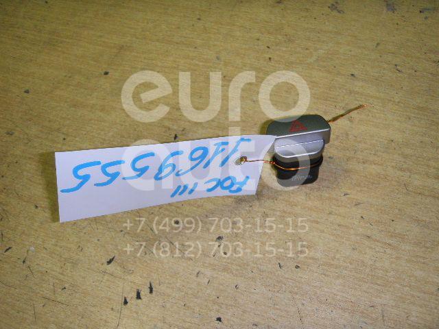 Кнопка аварийной сигнализации для Ford Focus II 2008-2011;Focus II 2005-2008 - Фото №1