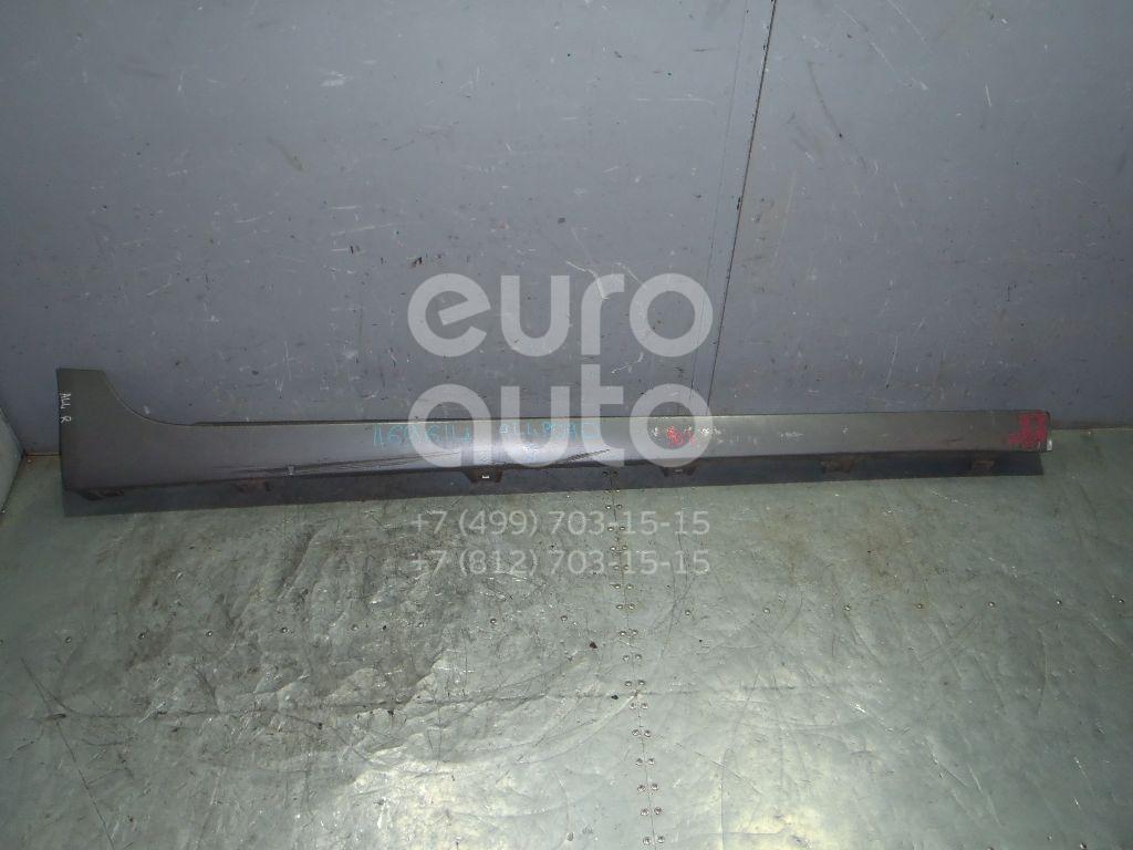 Накладка на порог (наружная) для Audi Allroad quattro 2006-2012;A6 [C6,4F] 2004-2011 - Фото №1
