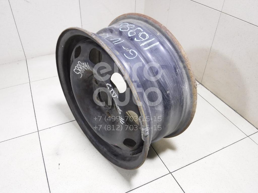 Диск колесный железо для VW,Skoda Golf IV/Bora 1997-2005;Octavia (A4 1U-) 2000-2011;Octavia 1997-2000 - Фото №1