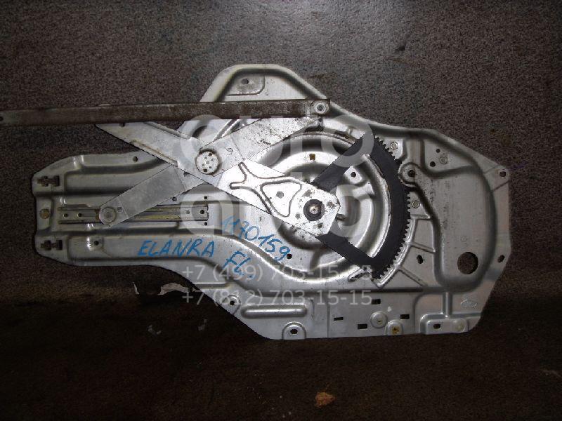 Стеклоподъемник электр. передний левый для Hyundai Elantra 2000-2006 - Фото №1