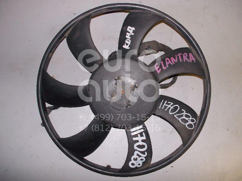 Вентилятор радиатора для Hyundai Elantra 2000-2006 - Фото №1