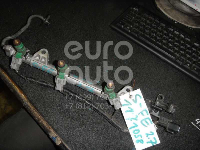 Рейка топливная (рампа) для Hyundai Santa Fe (SM) 2000-2005 - Фото №1