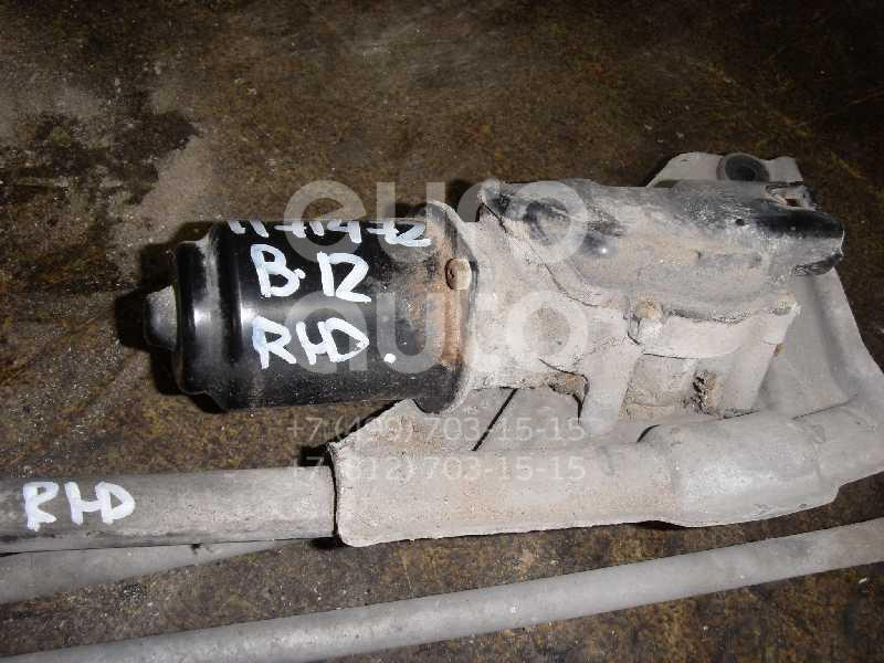 Моторчик стеклоочистителя передний для Subaru Legacy (B12) 1998-2003 - Фото №1